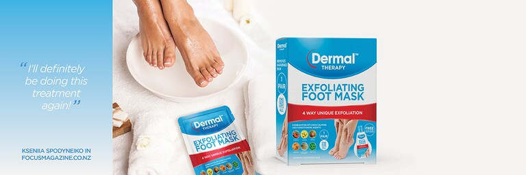 Dermal Therapy Exfoliating Foot Mask